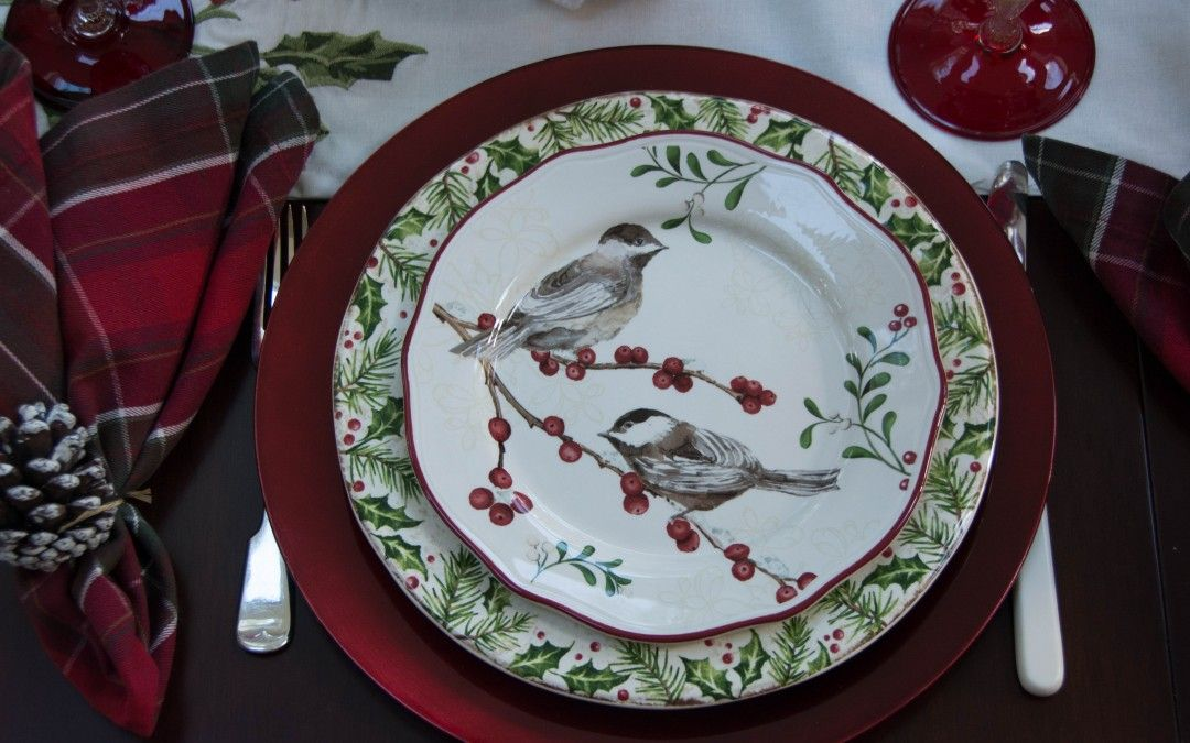 Better Homes And Gardens Dinnerware | Winter Forest U2013 Entertablement