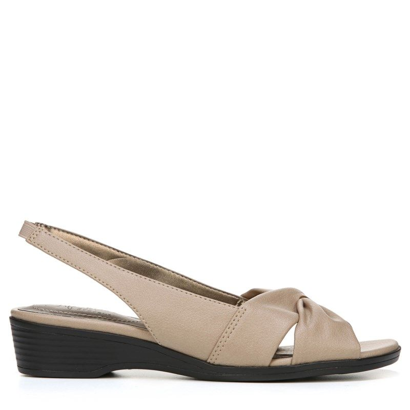 Lifestride Women's Mimosa II Dress Sandals (Tender Taupe)