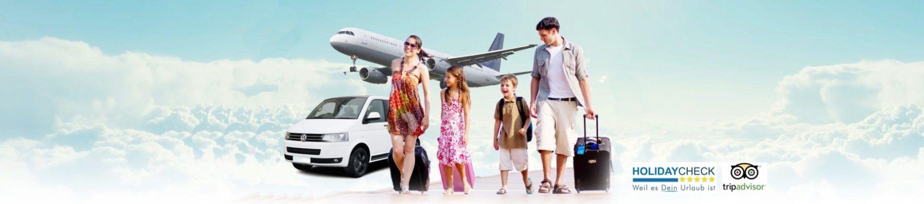 Den Mallorca Flughafen Transfer kann man von zu Hause aus
