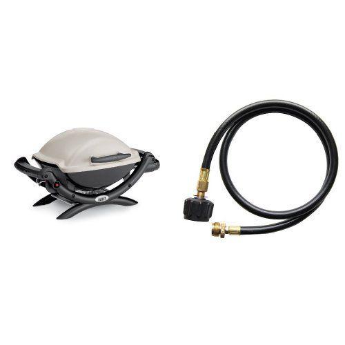 Weber 50060001 Q1000 Liquid Propane Grill Propane Grill Propane Grilling