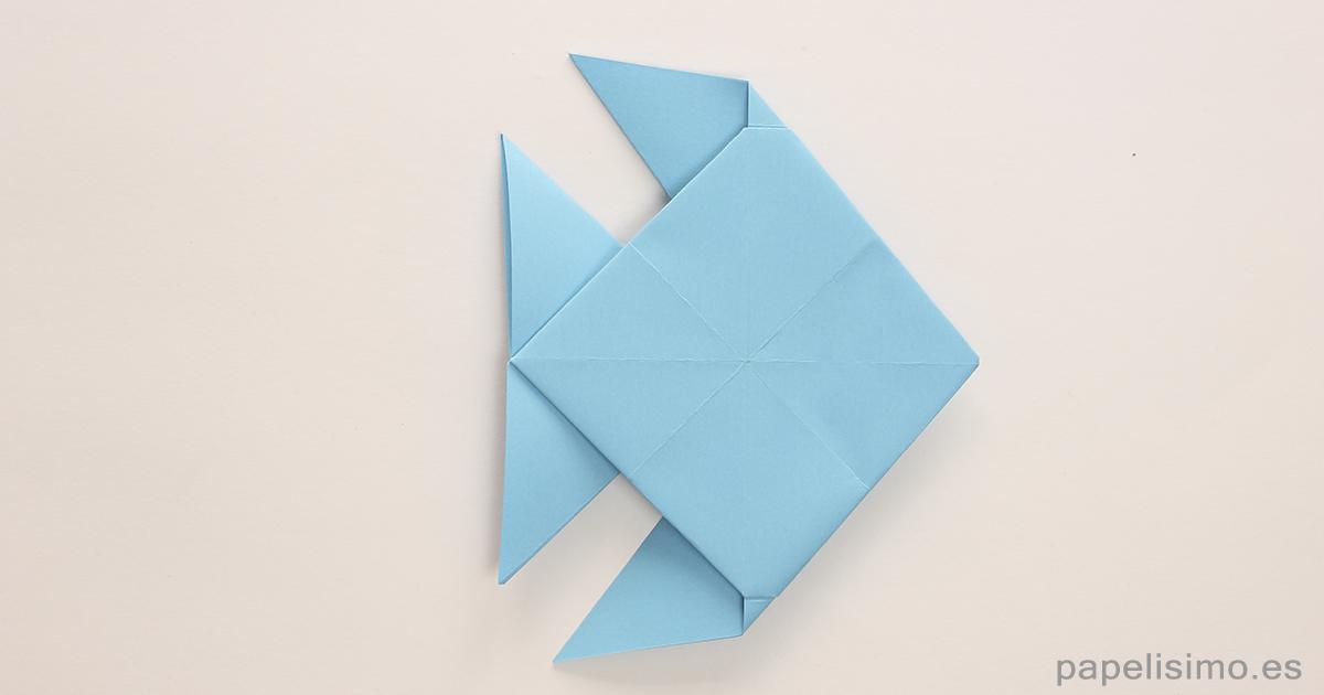 Pez De Origami Fish