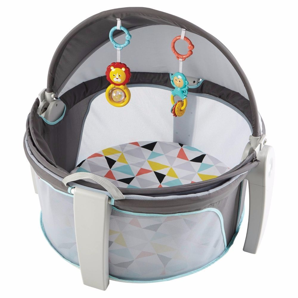 On The GoBaby Dome Fisher Price UV Shield Security Happiness Play ...