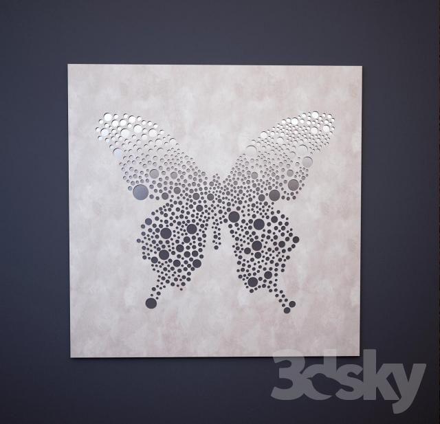 Dolfi mirror butterfly