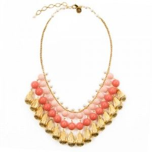 Nora bib necklace by Loren Hope. $175