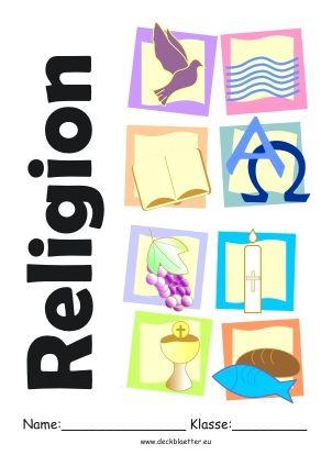 Deckblatt Religion Deckblatt Schule Religion School Und Godly Play