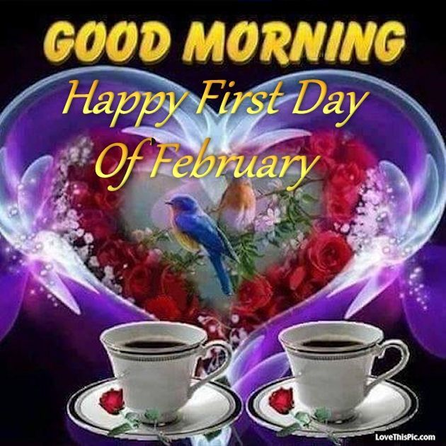 february quotes | Good Morning Happy First Day Of February