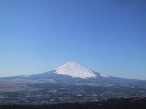 御殿場市から見た富士山