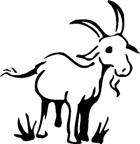 goat drawing vintage clipart free - Bing Images | Farm