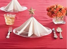 How To Fold Napkin Into Christmas Tree.How To Fold Cloth Napkins Into Christmas Tree Decorating