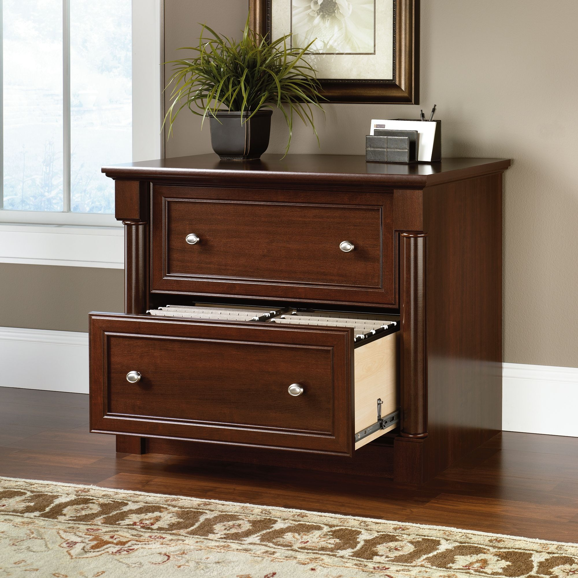 Sauder Lateral File Cabinet Maple