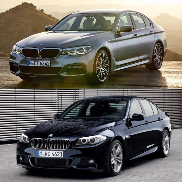 G30 5 Series Vs F10 5 Series Photo Comparison Bmw 5 Series