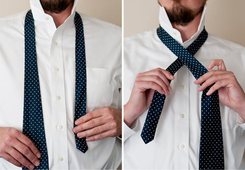 Living Well: 4 Secrets To Tying a Necktie