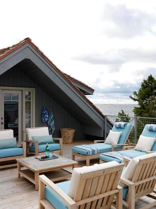 Çatı katı dediğin budur. #summervacationstyle