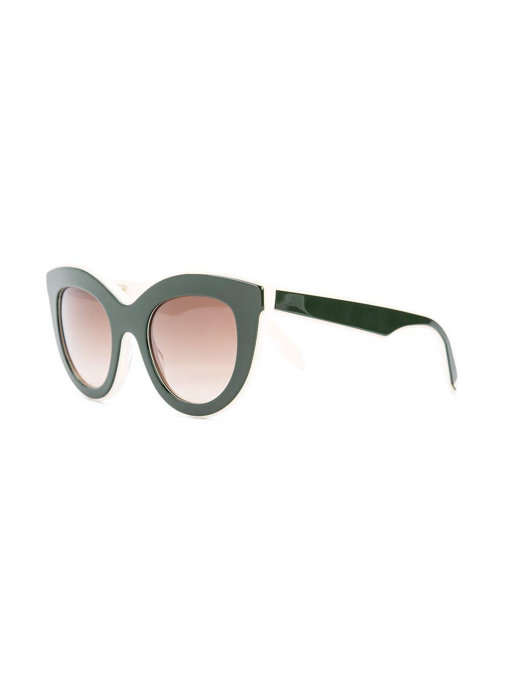 Victoria Beckham cat eye sunglasses