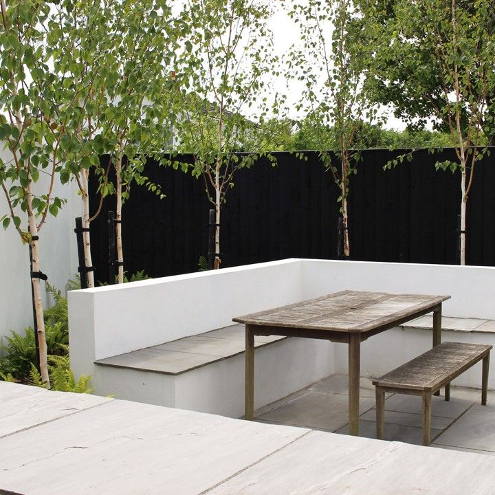 a stylish scandinavian inspired garden llantwit major vale of