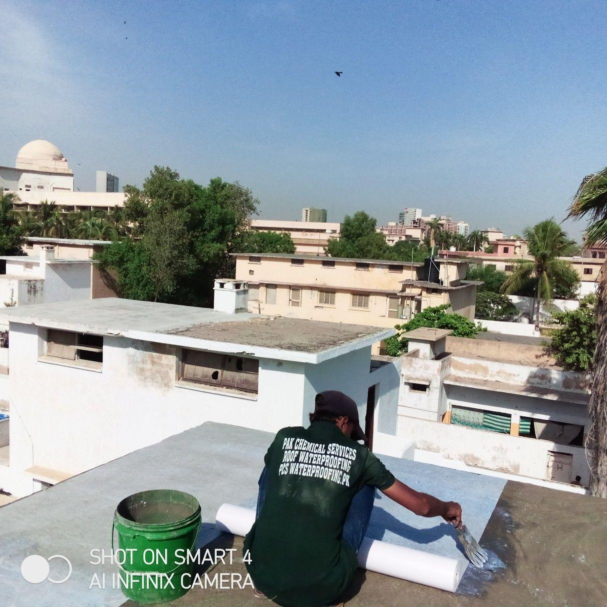 Cool Roof Leakage Wateroofing In Karachi In 2020 Cool Roof Roof Waterproofing Shed Roof