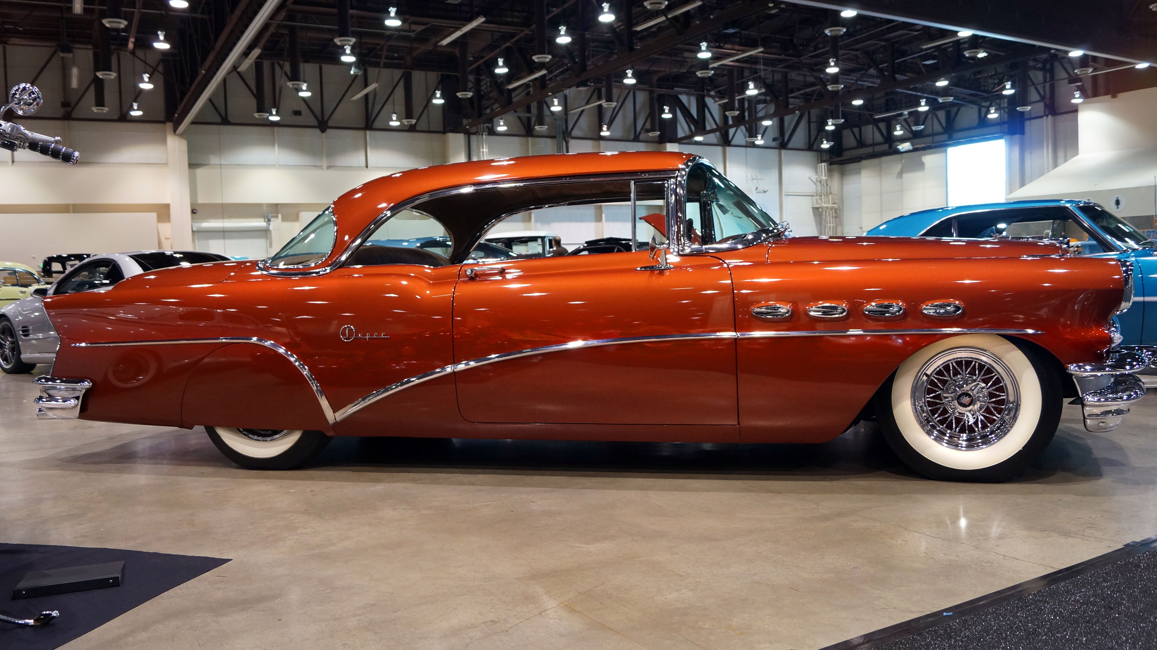 This One Off Custom 1956 Buick Super Practically Glows