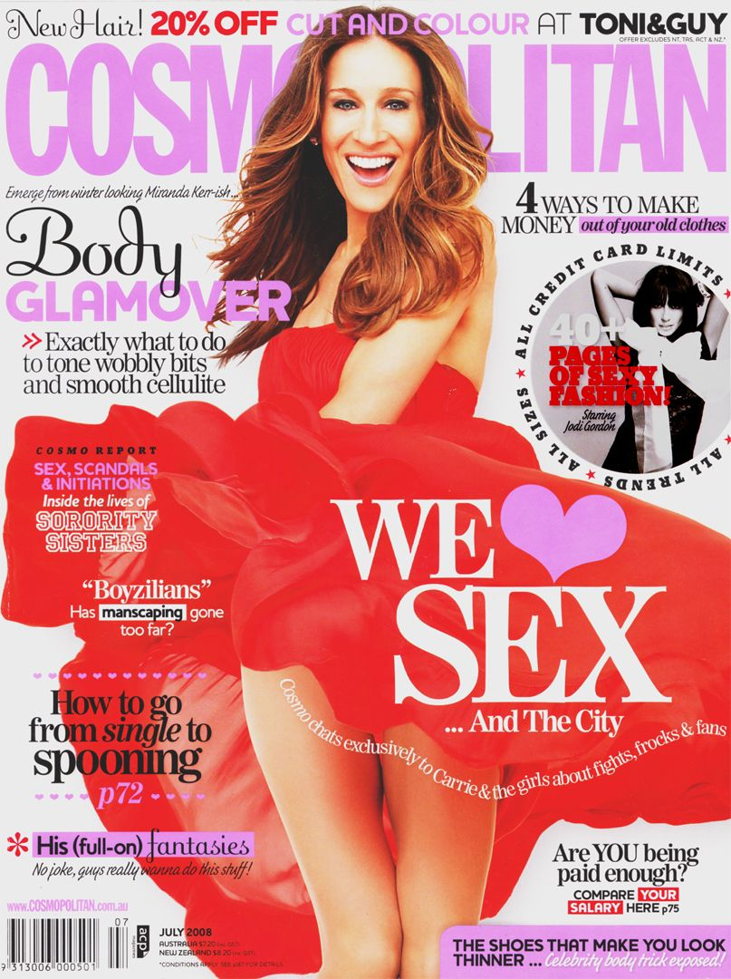 Buy Jessica sarah parker cosmopolitan august picture trends