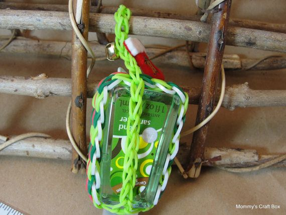 Rubber Band Woven Travel Hand Sanitizer Case By Mommyscraftbox