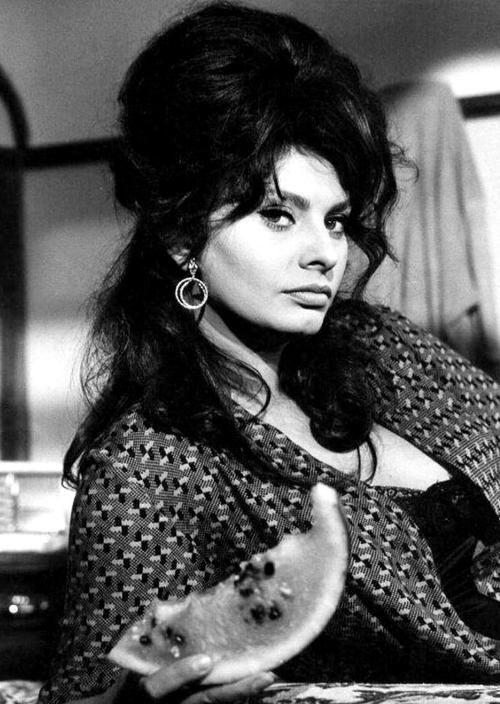 allthroughthenightb:  Sophia Loren.