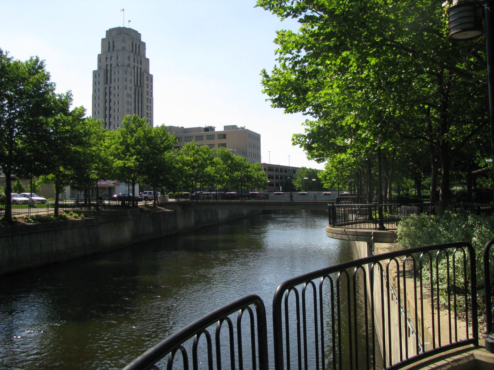View of the Downtown Section of Battle Creek Michigan