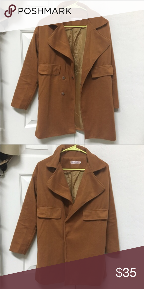 Cute coat Worn once and in great condition Jackets & Coats Pea Coats