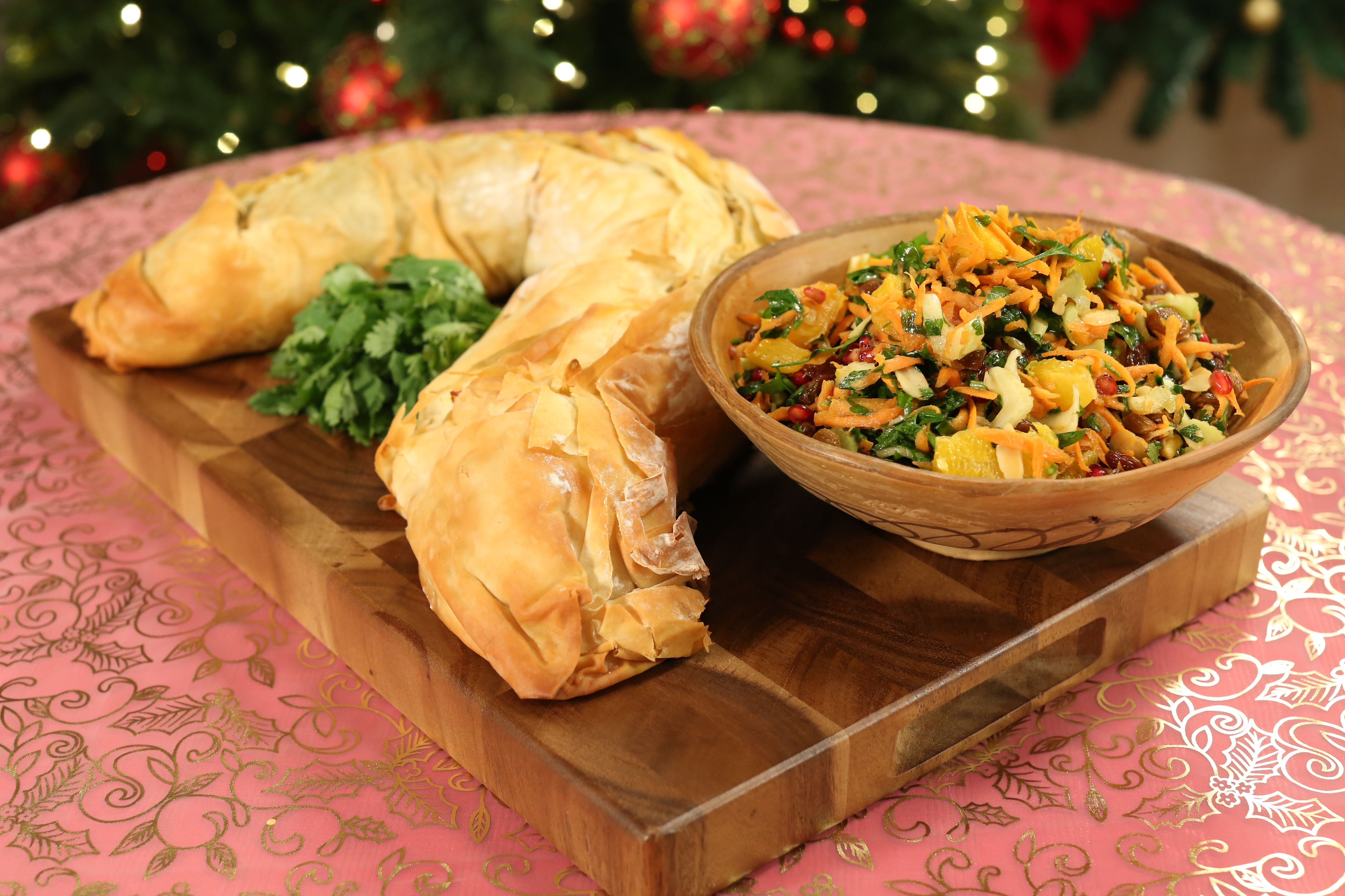 John whaites moroccan vegetable strudel jeni barnetts 12 chefs this dish is a great vegetarian option for a christmas day feast while best assembled and eaten the same day the filling can be made a day ahead forumfinder Images