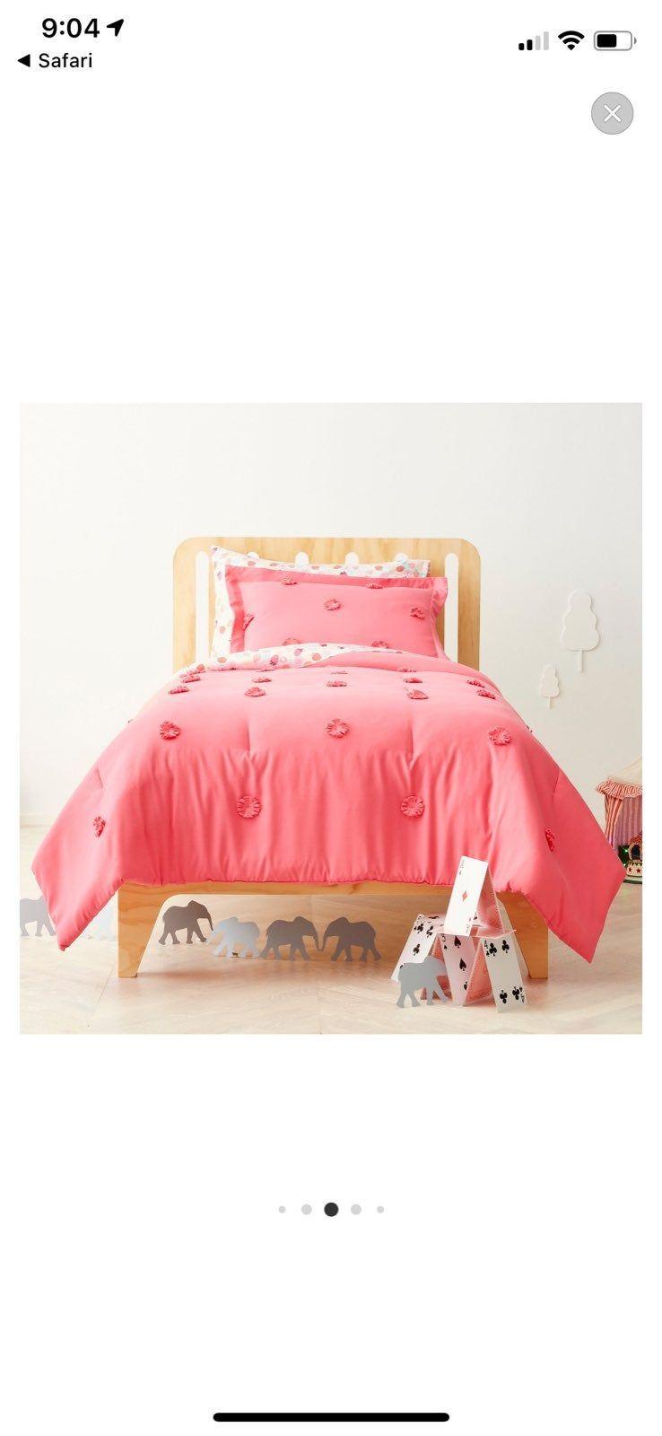 Pom Pom Target Pillowfort Girl Comforter on Mercari