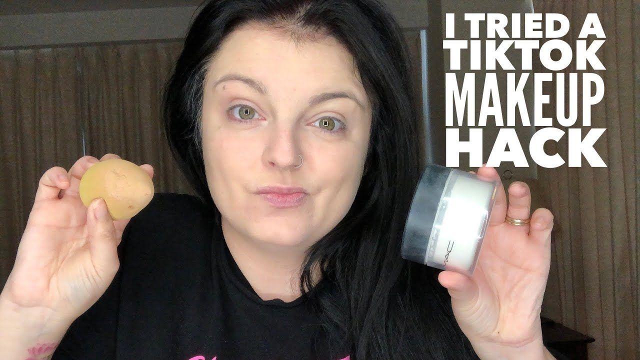 I Tried a TikTok Makeup Hack in 2020 Makeup tips, Simple