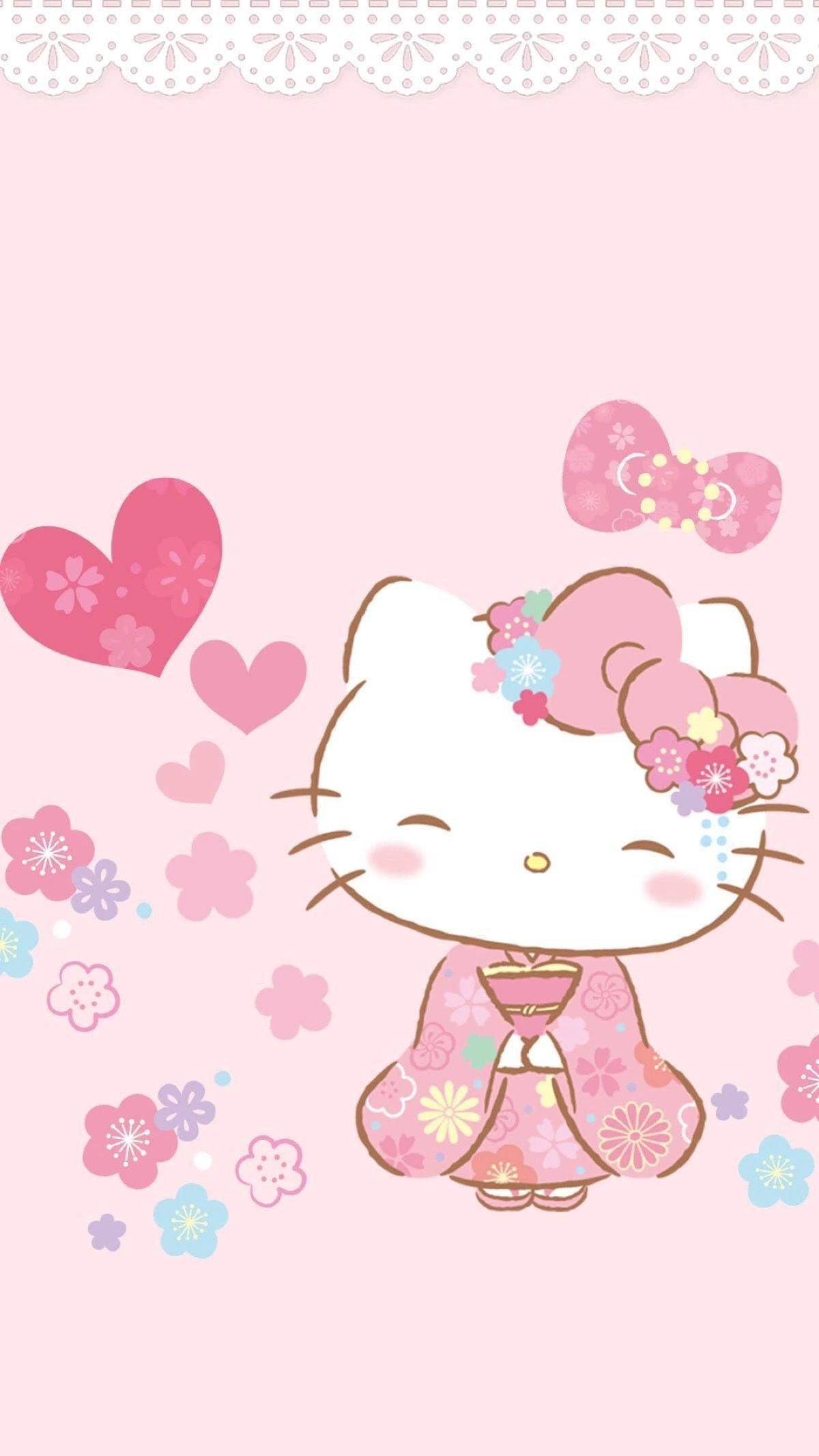 Hellokitty Sanrio Wallpaper Hello Kitty Wallpaper Iphone Regarding