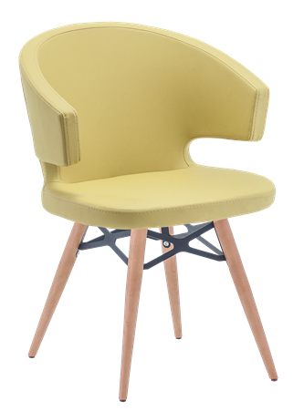 Photo of PİLLAR MILANO CHAIR WOOD CONICAL FOOT