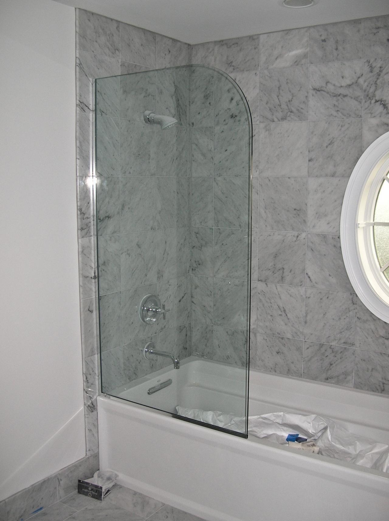 Glass splash panels for shower | Bath tub doors | Pinterest | Glass ...
