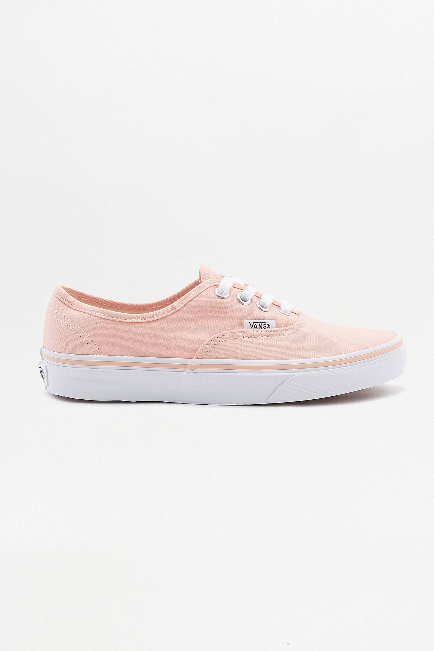 vans authentic peach