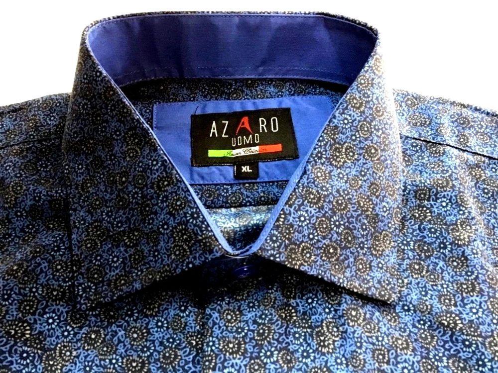 Men/'s SUSLO COUTURE  designer shirt Italian style,modern slim fit