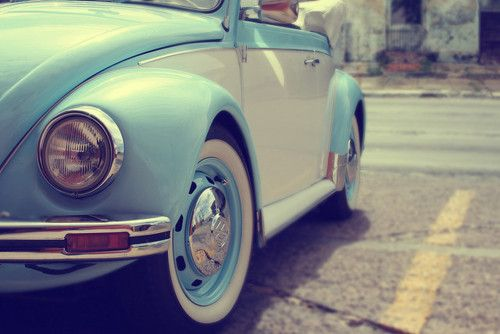VW beetle convertible...