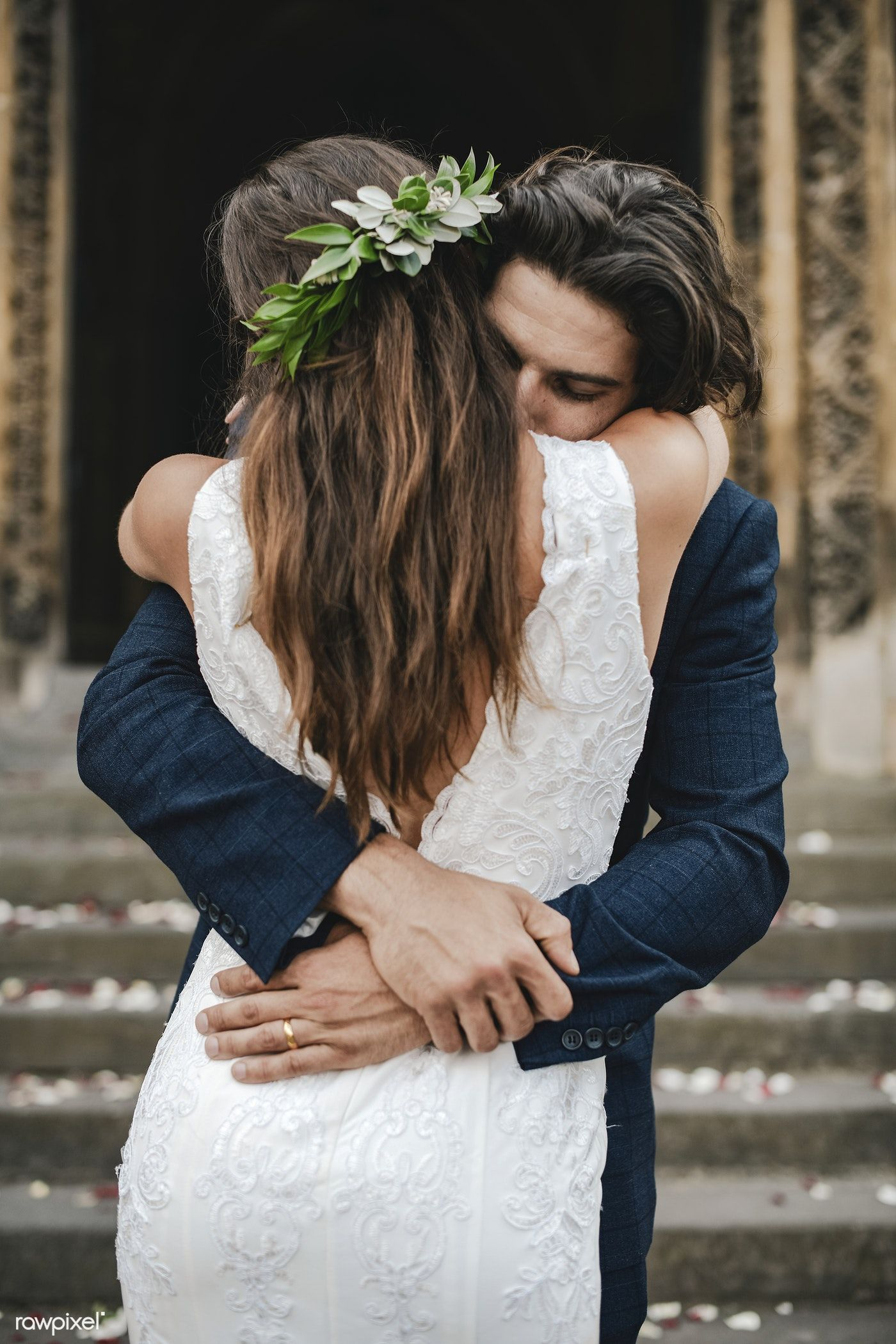 Download Premium Photo Of Newly Wed Couple In Love 526888