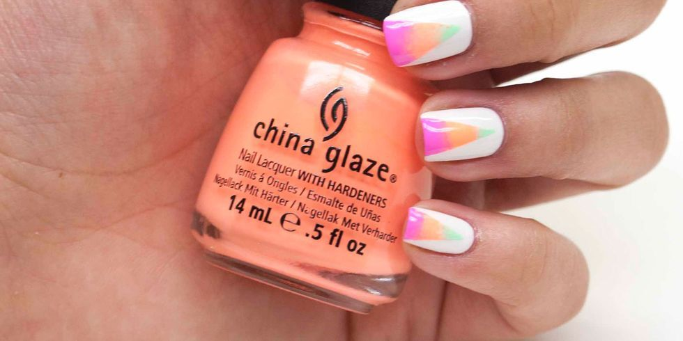 China Glaze Nail Art Designs To Bend Light