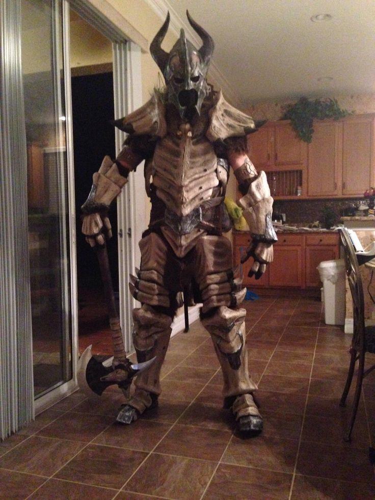 Skyrim Dragonbone Armor cosplay & Dragonbone Armor - Halloween Costume Contest at Costume-Works.com ...