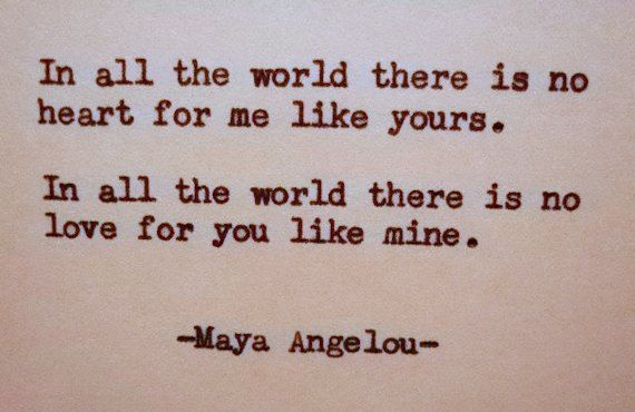 MAYA ANGELOU Love Quote Hand Typed on Typewriter - #angelou #quote #typed #typewriter - #GivingLoveQuotes #Angelou #GivingLoveQuotes #Hand #Love #Maya #quote #Typed #Typewriter