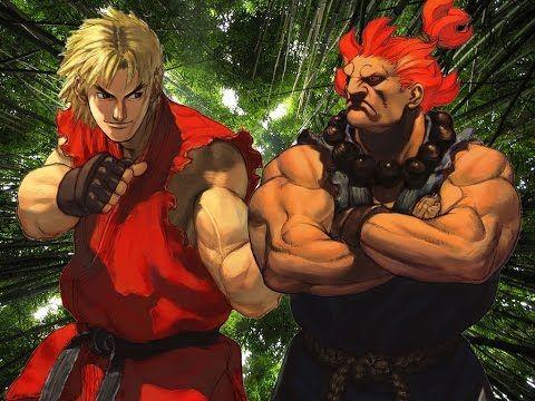 Street Fighter V PC - Ken vs Akuma, this wasn't easy