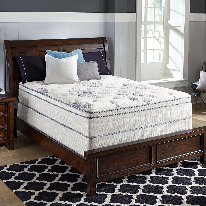 Serta Perfect Sleeper Valleybrook Cushion Firm Eurotop Low Profile