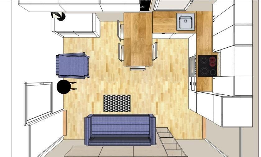 Salon Z Aneksem Kuchennym 18m Kuchnia I Jadalnia Forum I Wasze Wnetrza Leroy Merlin House Design Design Home
