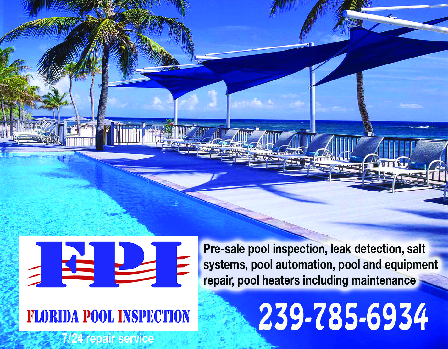 Need your pool inspected in the naples florida area