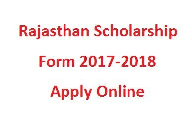 Rajasthan Scholarship Form   Results Govt Jobs