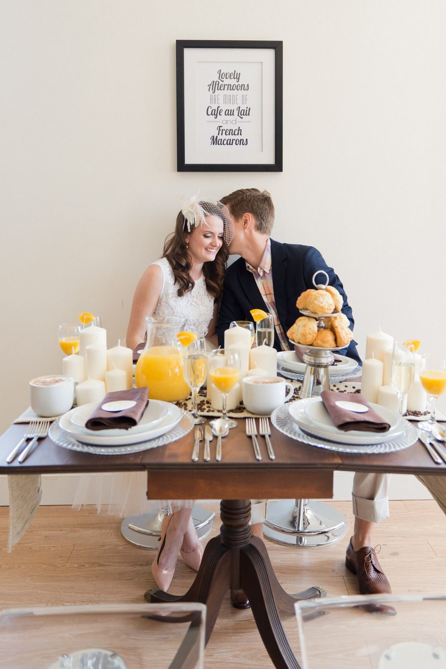 Sunday Brunch Elopement Photo Shoot From Laura Kelly Photography
