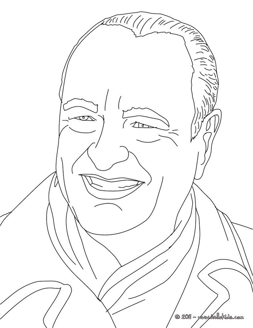 president jacques chirac coloring page