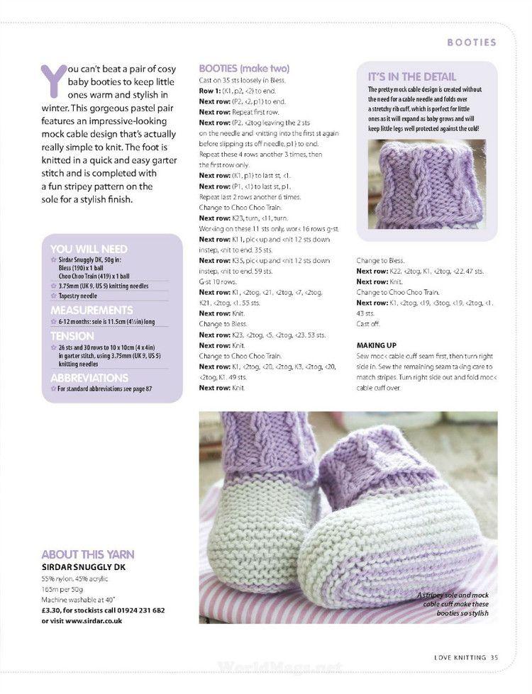 Love Knitting for Baby №2 2016 - 轻描淡写 - 轻描淡写 | Brei & hekel ...