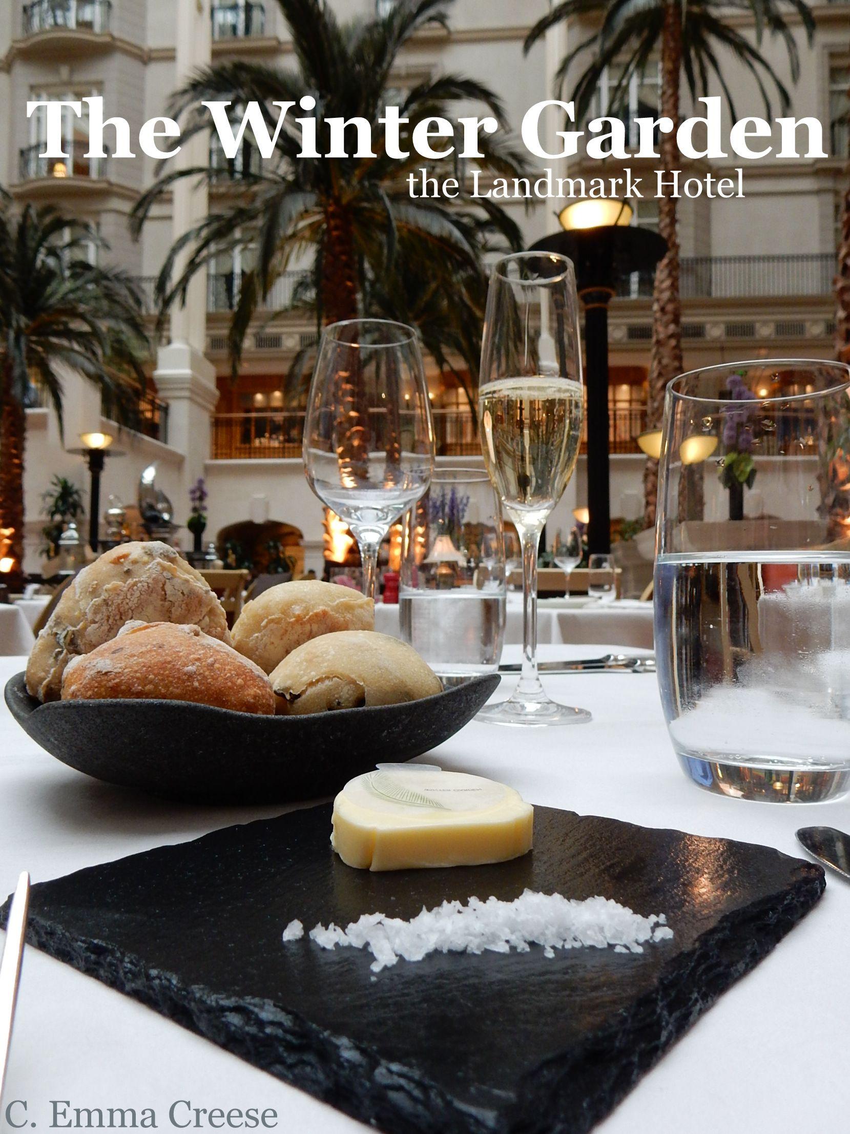 the winter garden landmark hotel luxury restaurant review