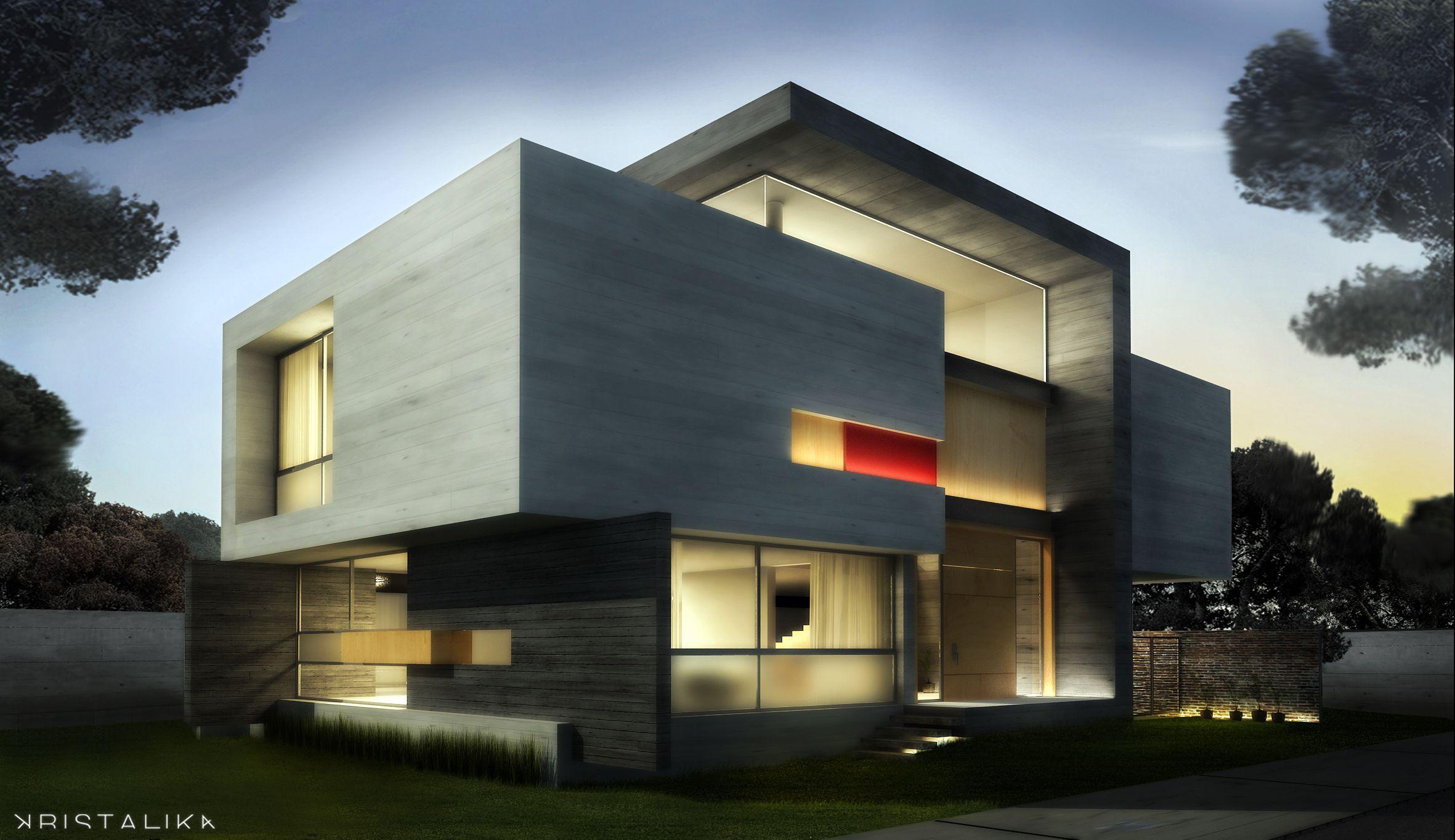 EL CIELO HOUSE Planos de casas minimalistas