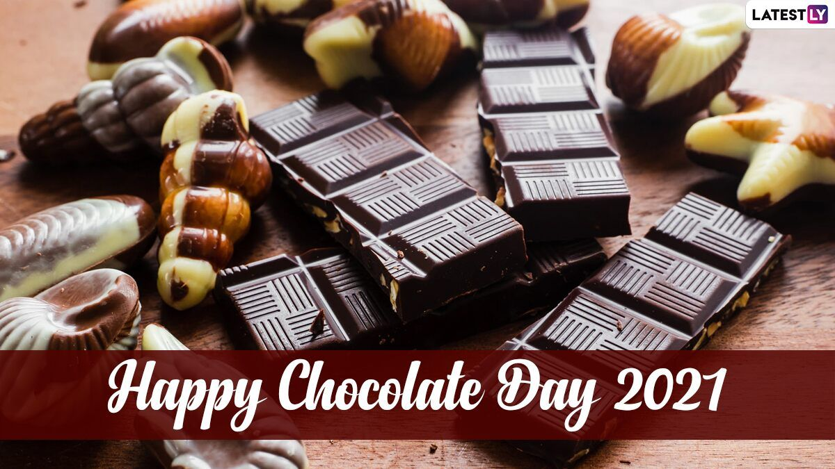 Chocolate Day 2021 Date And Significance How To Celebrate Chocolate Day Here S Everything Y In 2021 Chocolate Day Chocolate Happy Chocolate Day Gif whatsapp happy chocolate day 2021